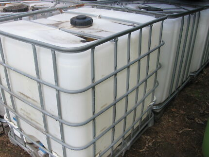 WATER TANKS 1000LT I.B.C. WITH TAP,HEAPS AVAILABLE. Annangrove The Hills District Preview