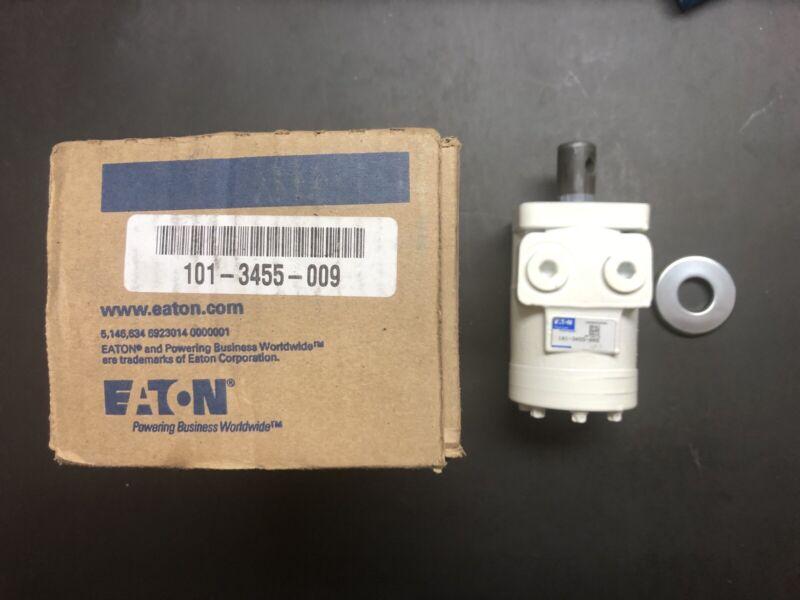 "Eaton / Char Lynn Hydraulic Motor Series H 1"" Shaft White Catalog # 101-3455-009"