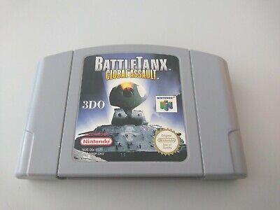 BattleTanx Global Assault 3DO   N64 Nintendo 64   Genuine cart   PAL