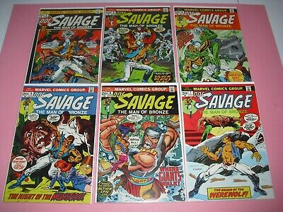 Doc Savage run 2 3 4 5 6 & 7 all around F/VF or better! Marvel 1972 1708