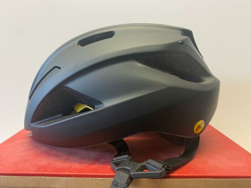 new Specialized ALIGN II MIPS bicycle ADULT helmet BLACK / BLACK REFLECTIVE