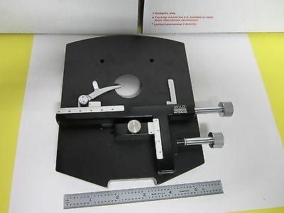 Microscope Stage Micrometer Specimen Heerbrugg Swiss N1-w-09