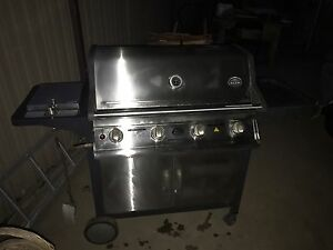 4 Burner BBQ Jackeroo Professional 4 SS Series Haberfield Ashfield Area Preview