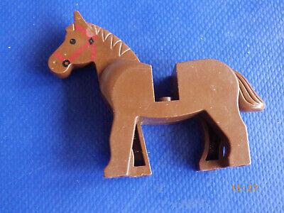 1 BROWN LEGO HORSE ANIMALS