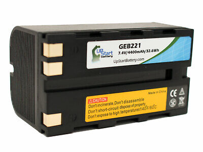 Geb221 Battery For Leica Sr20 Rx1200 Rx1200 Series Atx900