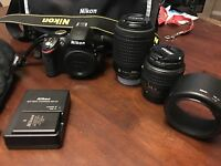 D3200 Nikon camera open to offers