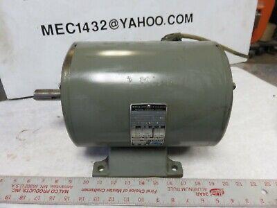 Clausing Drill Press Motor 1.5 H.p. 1140 Rpm 3 Phase Powermatic Baldor Motor