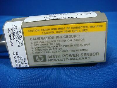 Agilent 8481H 10 MHz-18 GHz Power Sensor