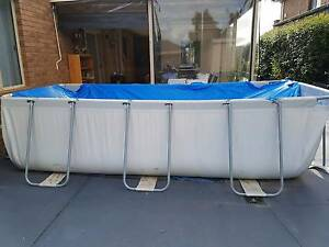 "$140 Bestway Above Grnd Steel Frame Swimming Pool 159""x79""x39.5"" Hillside Melton Area Preview"
