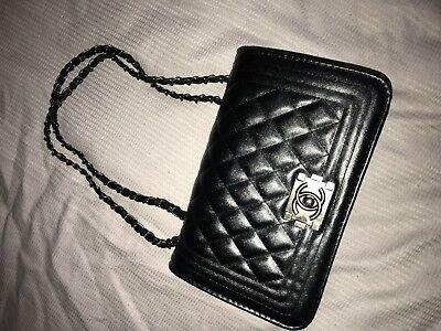 Chanel Paris Classic Bag In Black