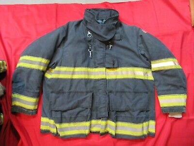 Mfg 2010 Globe Drd Gxtreme 52 X 32 Firefighter Turnout Bunker Jacket Fire Fdny