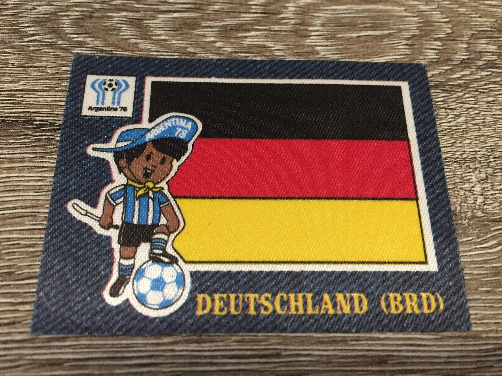 Panini Jean's Fussball 1978 - Sticker 78 - Deutschland (BRD) Germany