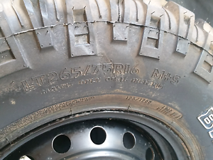 1x Mickey Thompson MTZ   Tyre265/75R16 Yokine Stirling Area Preview