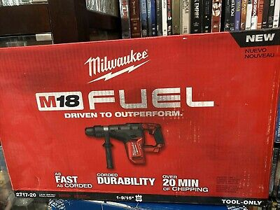 Milwaukee 2717-20 18-volt 1-916-inch Sds-max Rotary Hammer - Bare Tool New