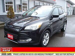 2015 Ford Escape SE $16995.00 financed price - 0 down pymt* SE