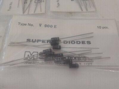 New10pack V900e Super Q Abrupt Varactor Diode Ultra-low Leakage 20vdc 100pf