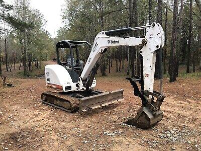Bobcat 337 341 Mini Excavator Hydraulic Thumb Clamp Graple Kit