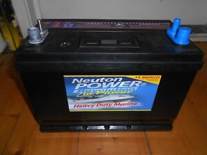 4WD / MARINE AND CAR BATTERY NEW