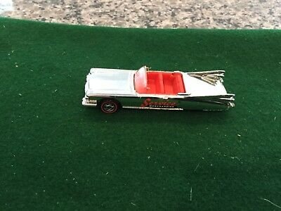 Cadillac Classic Car - Hot Wheels Classic Cadillac Redline - from Svc Merch Classic Car Collection