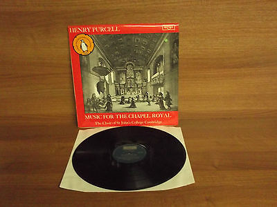 ZRG 5444 : Henry Purcell : Music For The Chapel Royal : George Guest : NM
