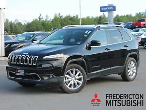 2017 Jeep Cherokee Limited 4X4 | HEATED/COOLED LEATHER | NAV...