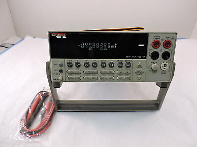 Keithley 2010 7.5 Digit Low Noise Bench Top Digital Multimeter 90 Day Warranty