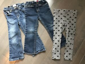 Lot de jeans fillette 5T