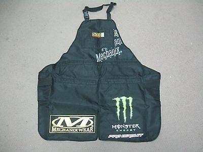 Mechanix Wear Monster Energy Race Tech  Work Mechanic Apron, Shop, (Mechanix Apron)
