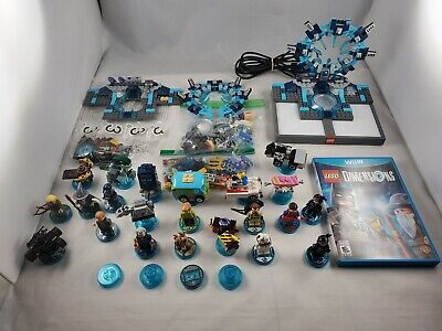 Lego Dimensions Wii U Lot Characters Vehicles And Bases