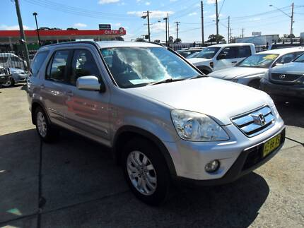 2005 Honda CR-V SPORT AUTOMATIC SILVER 4D Wagon Lansvale Liverpool Area Preview