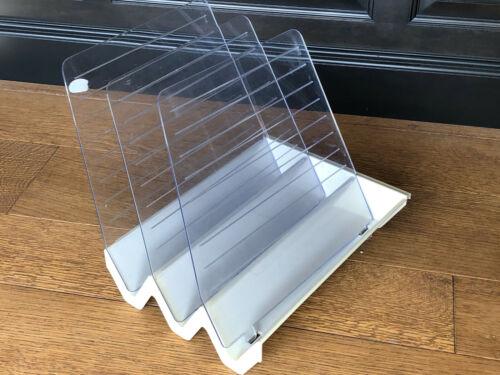 Herman Miller Paper Tray Hanging Letter Invoice Holder Organizer Cubical Cubical
