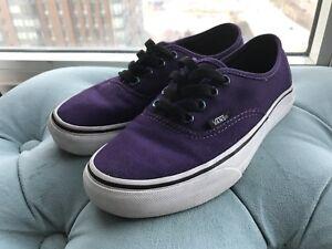 Women's Vans Shoes size 6 - Excellent Condition