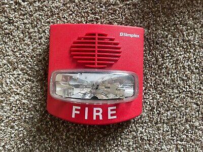 Simplex 4903-9418 Truealert Fire Alarm Smartsync Hornstrobe