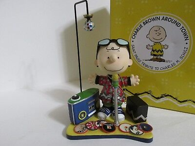 SNOOPY CHARLIE BROWN WESTLAND GIFTWARE PEANUTS ON PARADE SERIES FIGURE FIGURINE