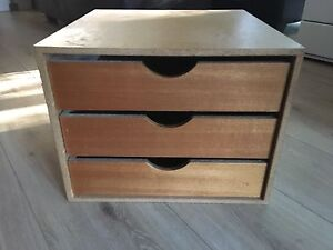 SMALL 3 DRAWER UNIT Chatswood West Willoughby Area Preview