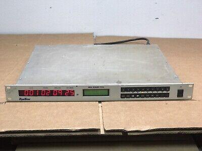 Truetime 800 Series 840-311-1 Tcu Time Code Generatorrs232irig Ttl Modules