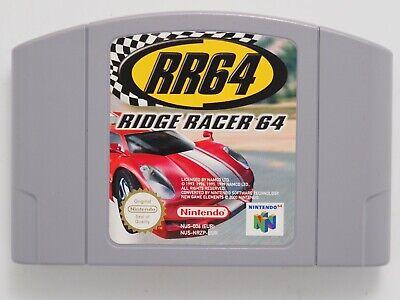Ridge Racer 64 *100% ORIGINAL* PAL Cartridge Only for Nintendo 64 N64 RR64