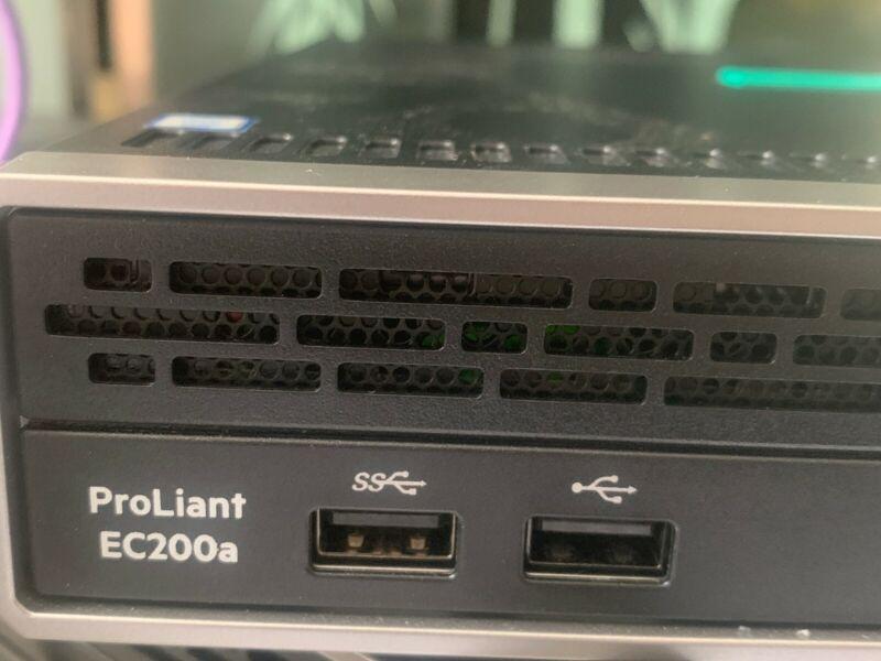 HPE ProLiant EC200a D1518 PERF NHP Server 32G Memory 1TB HDD