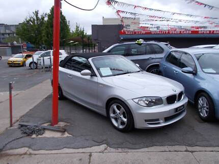 2008 BMW 1 Convertible Braddon North Canberra Preview