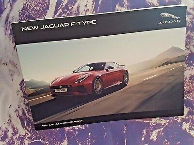 Jaguar F Type Sales Brochure - MY18.5 - Softback - 116 pgs