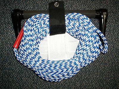 Boating Airhead Water Ski Tow Rope Tractor handle 75' ahsr-75  Blue/White