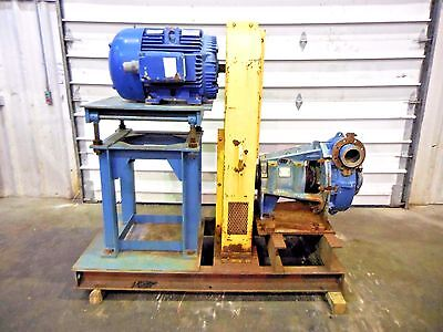 Rx-3620 Metso Hm150 Fhc-d 6 X 4 Slurry Pump W 75hp Motor And Frame