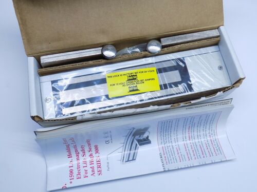 New Dynalock Model 3001 1500 LBS Force Double Outswing SM Electromagnetic Lock