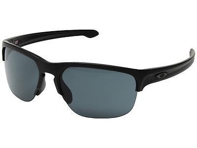 Oakley Silver Edge OO9413-01 Sunglasses Matte Black Prizm Grey Lens 9413 - Edge Sport Sunglasses