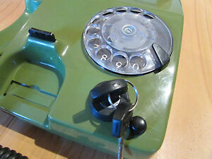 ancien telephone a cle vintage philips siemens annees 70 ebay. Black Bedroom Furniture Sets. Home Design Ideas