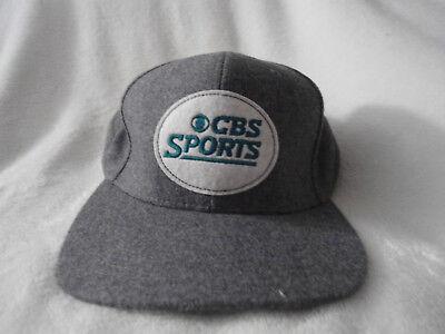 Cbs Sports Crew Baseball Cap Hat Gray
