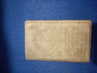 Vintage 1930's George VI Post Office Savings Bank Book Gold