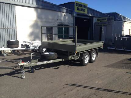 NEW Glenthorne Trailers - H/DUTY 3.4T aggregate Flat Top Trailer Kenwick Gosnells Area Preview
