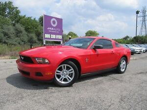 2010 Ford MUSTANG V6 MANUAL CLEAN CAR PROOF NO ACCIDENTS A/C CRU