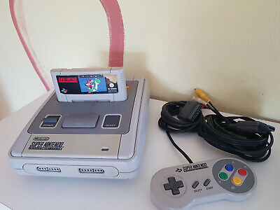 Super Nintendo Console 2-CHIP (Pal) Mario World/Controller / without Supply